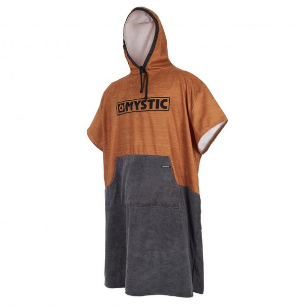 2018 Mystic Changing Poncho - Seal Brown/Gold