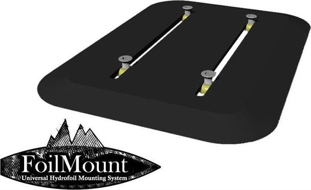 Foilmount Stick on Track Box
