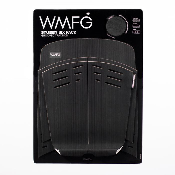 WMFG 3.0 Grooved Traction Pad Stubby - Black