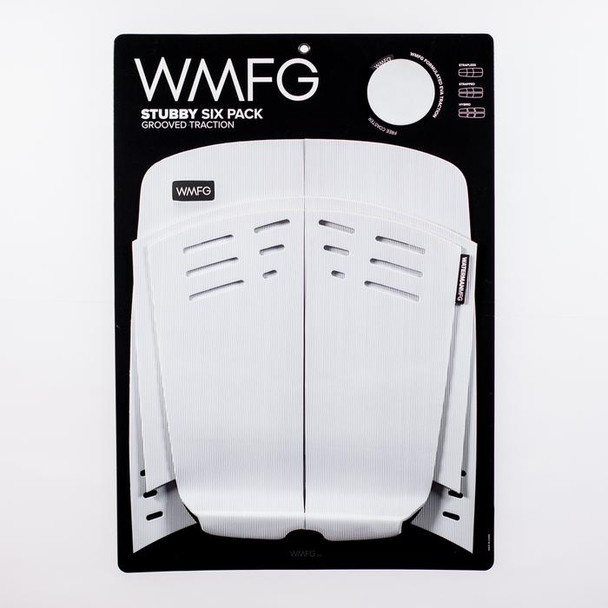 WMFG 3.0 Grooved Traction Pad Stubby - White