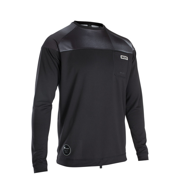 2020 Ion Men's Wetshirt LS - Black