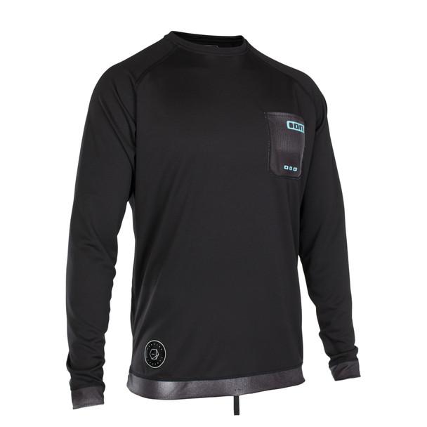 2019 Ion Men's Wetshirt LS - Black