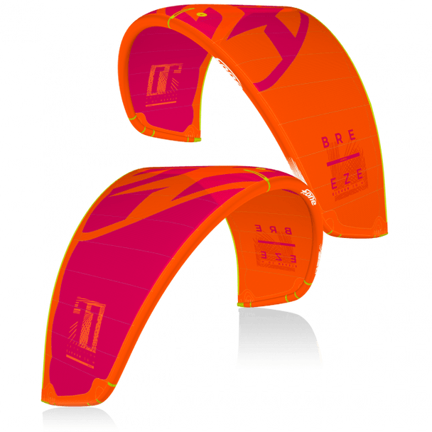 2020 Breeze V.2 Kiteboard Kite-Orange/Raspberry