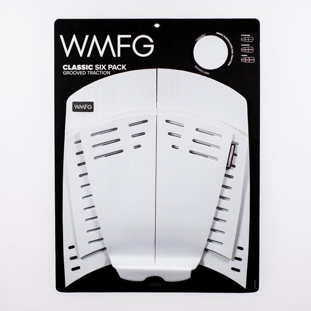 WMFG 3.0 Grooved Traction Pad Classic - White