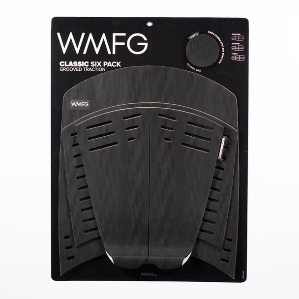 WMFG 3.0 Grooved Traction Pad Classic - Black