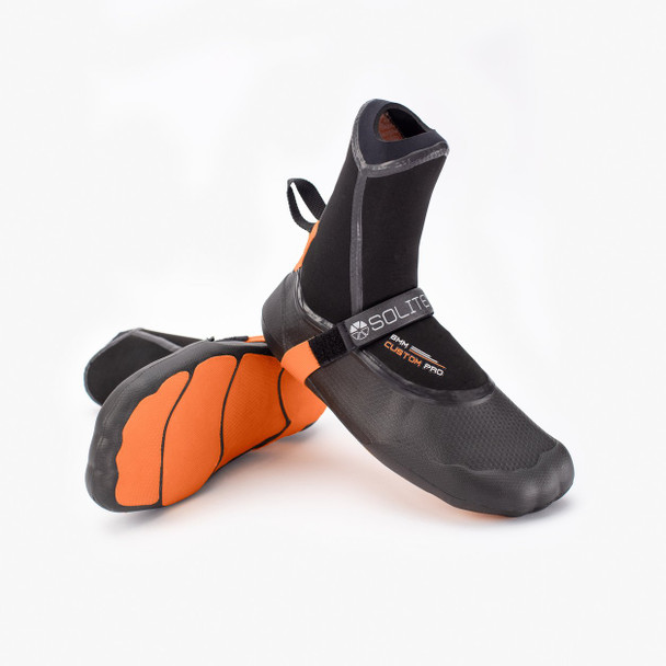 Solite Custom Pro 6mm Orange/Black Boots