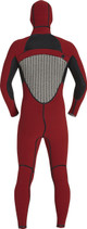Xcel Drylock 5/4 Hooded Fullsuit - Inside Back
