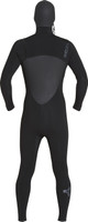 Xcel Drylock 5/4 Hooded Fullsuit - Back