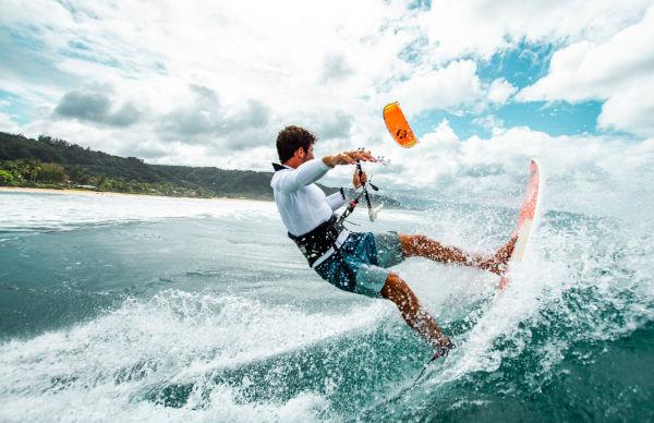 :01 Cabrinha Drifter Surf Action Shot by James Boulding