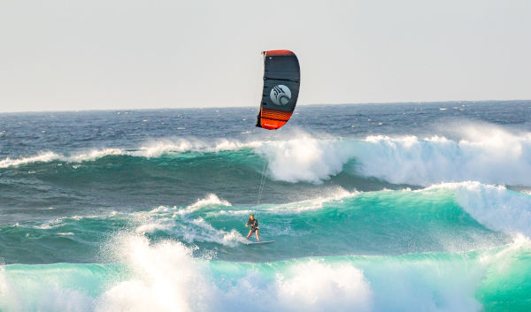 :01 Cabrinha Drifter Surf Action Wide Shot by James Boulding