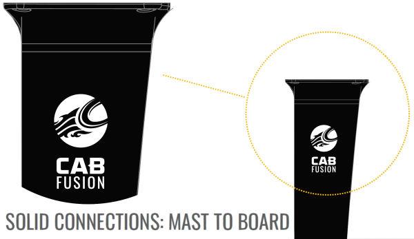 2021 Cabrinha Fusion Foil Base Kit - Carbon