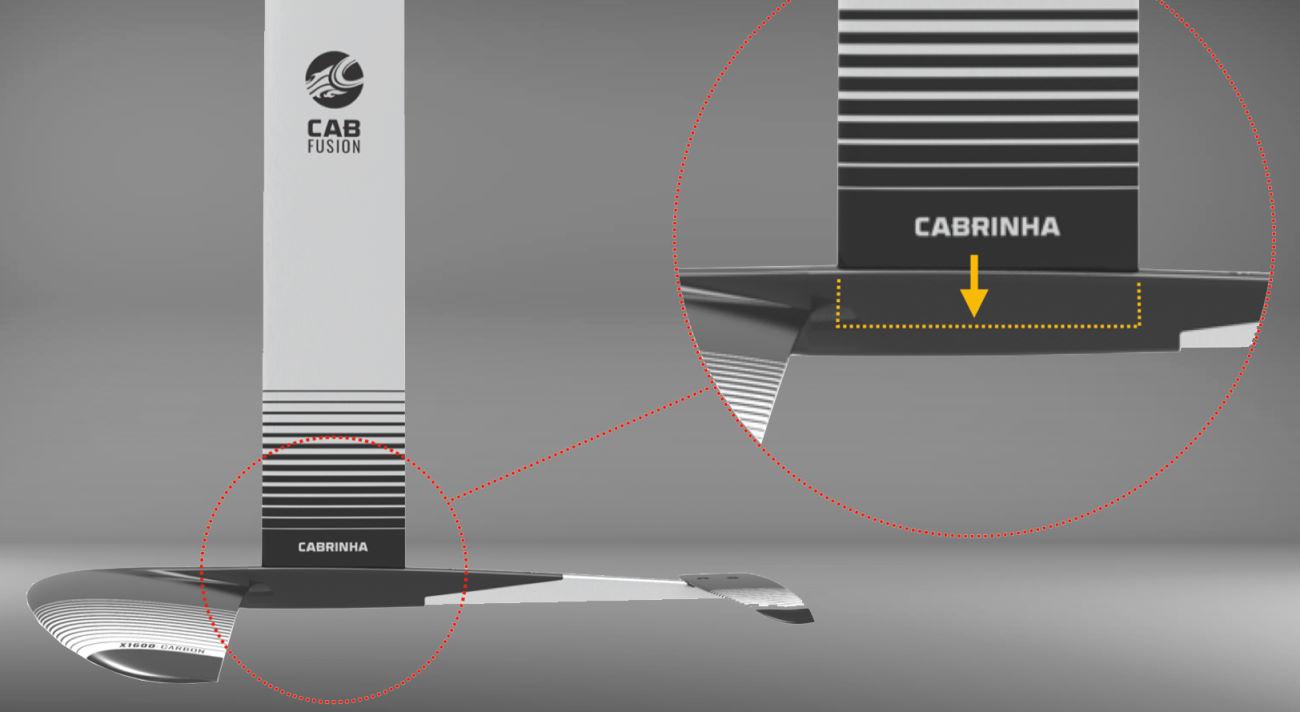2021 Cabrinha Fusion Foil Base Kit - Hybrid