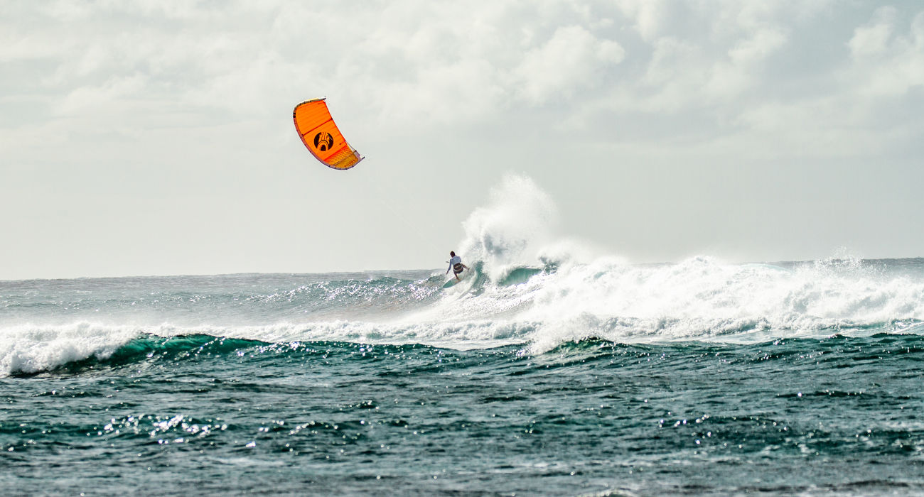 Drifter Riding On Wave