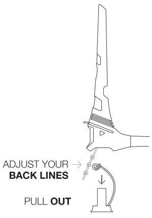 Easy Line Adjustment