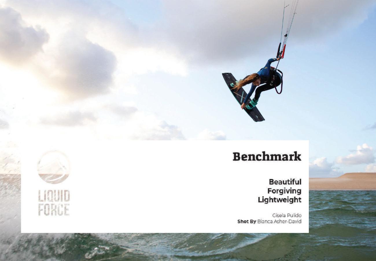 2020 Liquid Force Benchmark Kiteboard