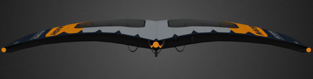 2020 Naish S25 Wing-Surfer back