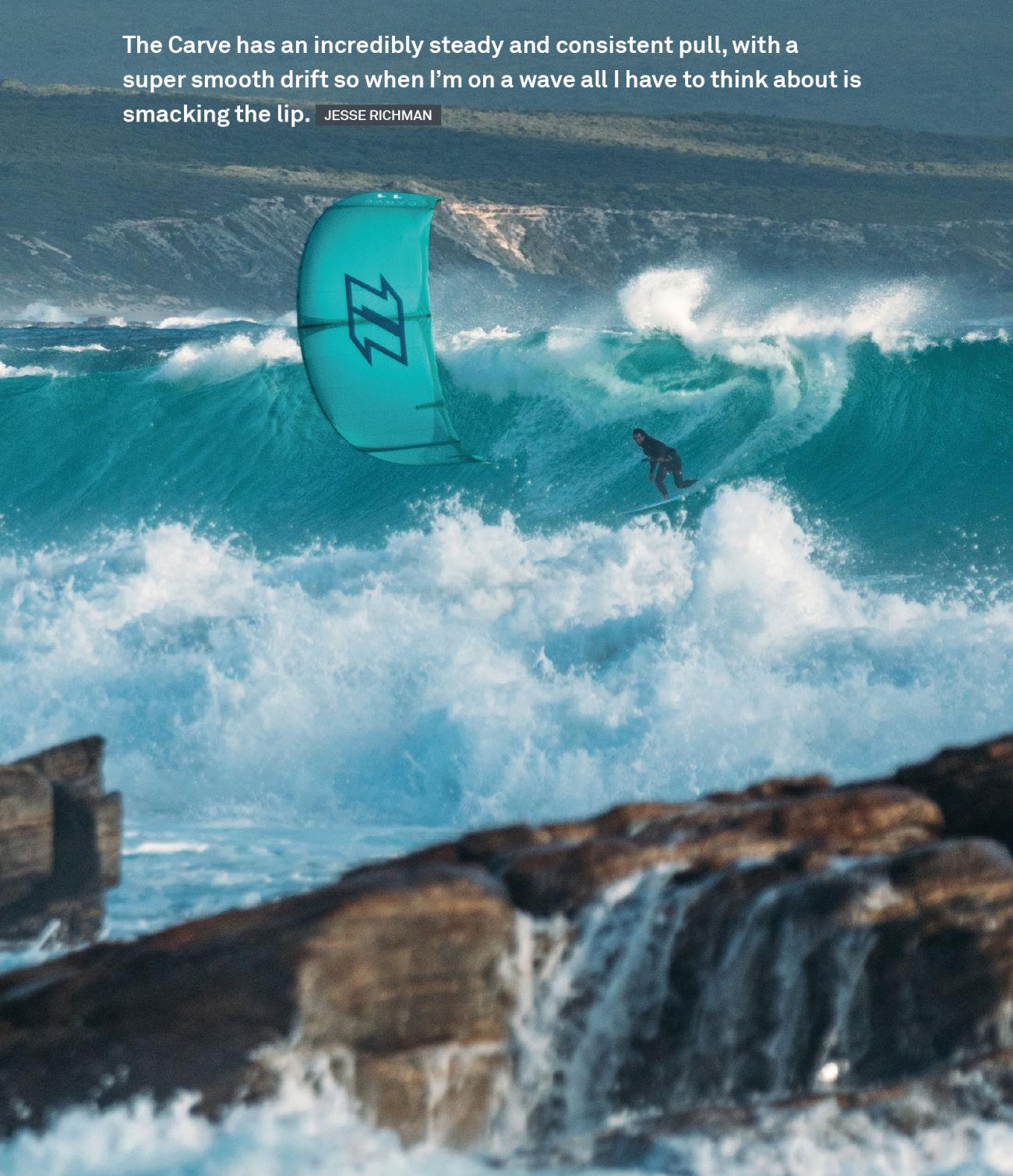 2020 North Carve Kiteboarding Kite