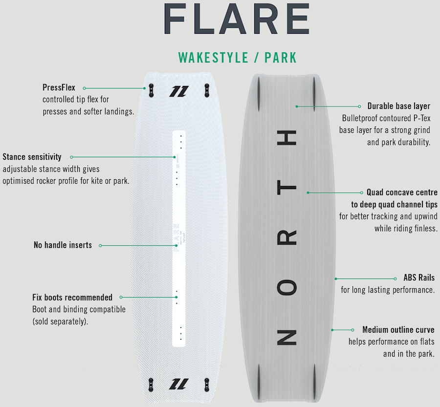 2020 North Flare Kiteboard
