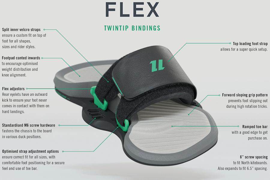 2020 North Flex Footstraps
