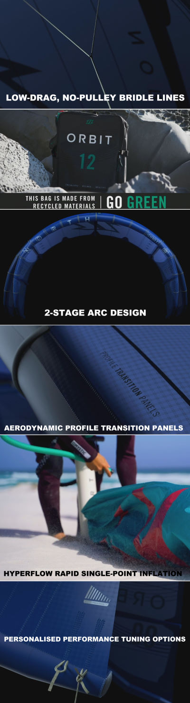 2021 North Orbit Kite features