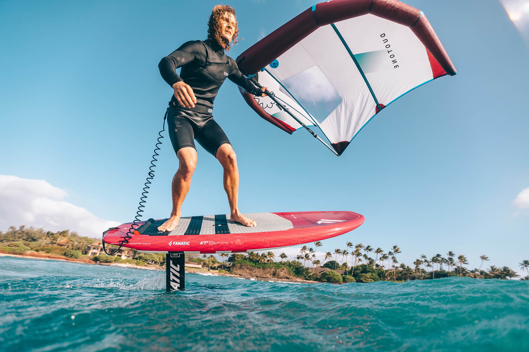 The Sky SUP makes a great lightwind or beginner wing foil board.