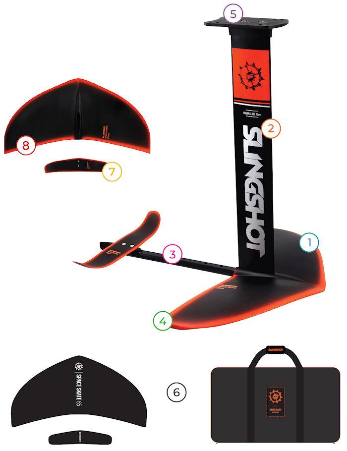2020 Slingshot Hover Glide FKite V4 features