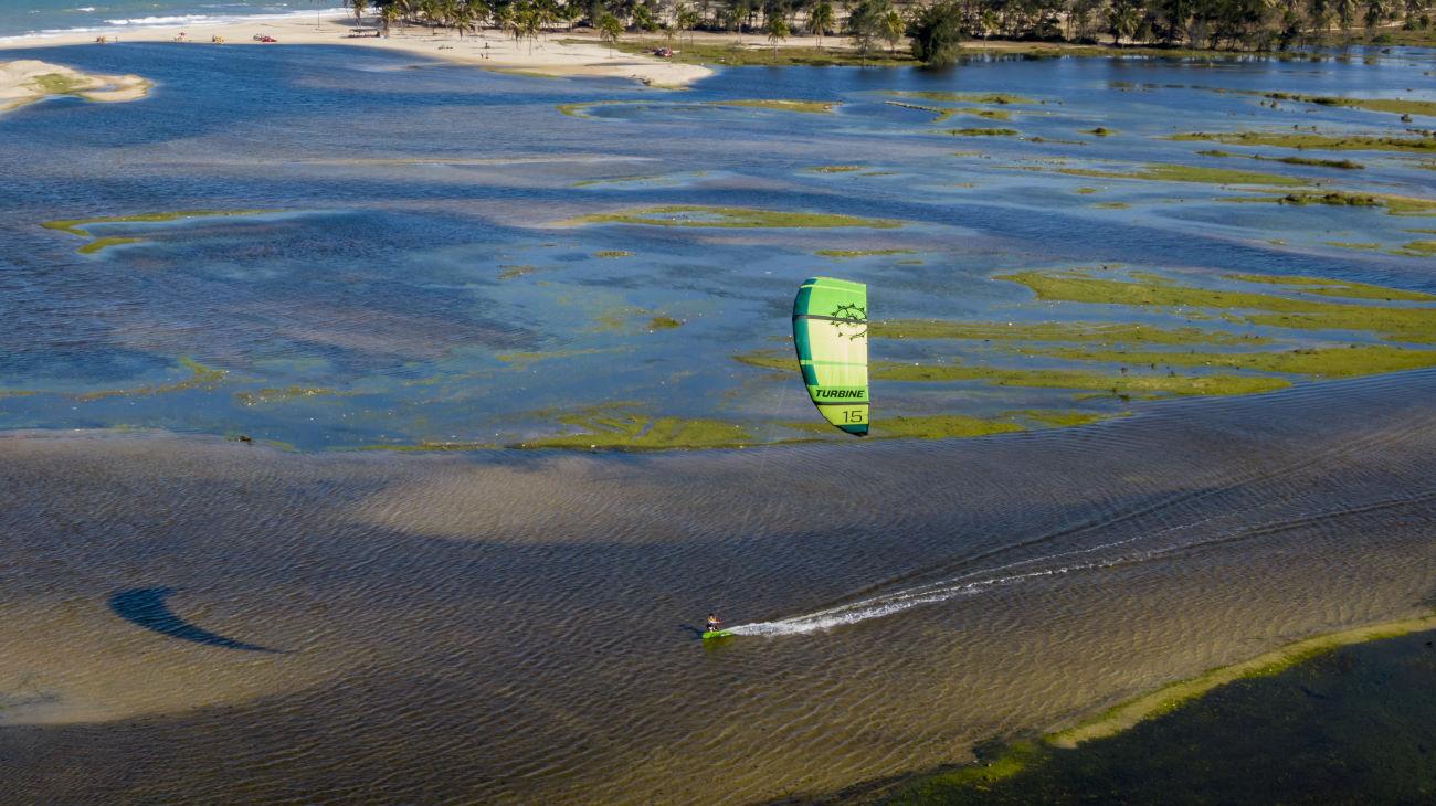 2020 Slingshot Turbine V10 Kiteboarding Kite
