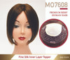 Premium Human Hair Magic On 7608 Mono Silk Top Women Integration Hair System