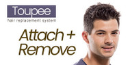 How to attach and remove a hair replacement system