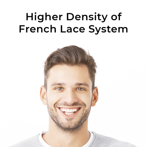 Higher density of french lace system