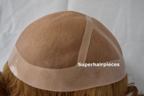 Custom made Silk Top Hair Loss Medical Wig W2