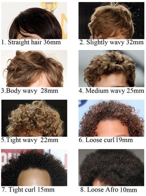 zigzag male toupee
