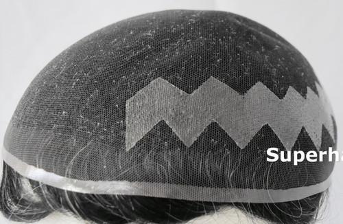 Men's Human Hair Hairpiece