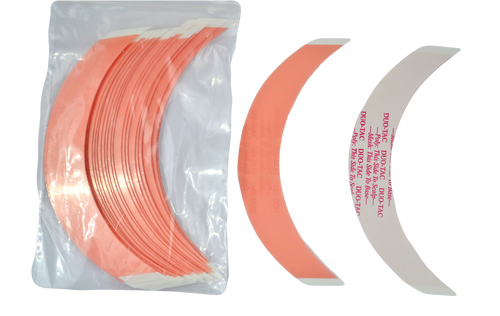 "Duo Tac Super Wide Tape ""CC"" Shape 3/4"" x 5"" (24 pcs per pack)"
