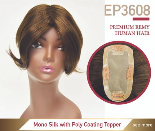 Easy Part 3608 Parting Line Hair Loss Premium Human Hair Women Hairpiece