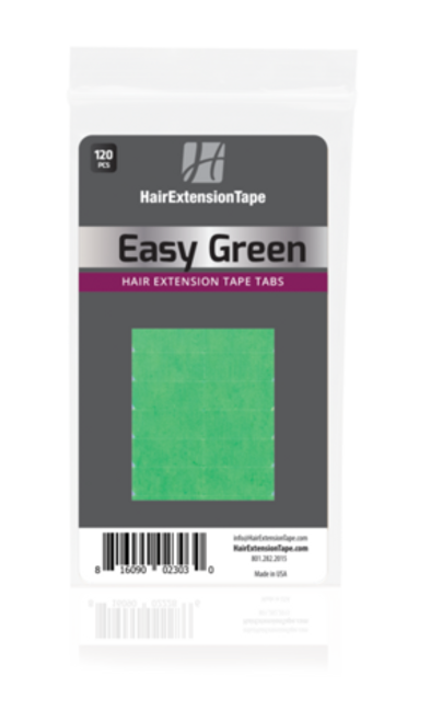 Green Liner Easy Green Hair Extension Tape Tabs