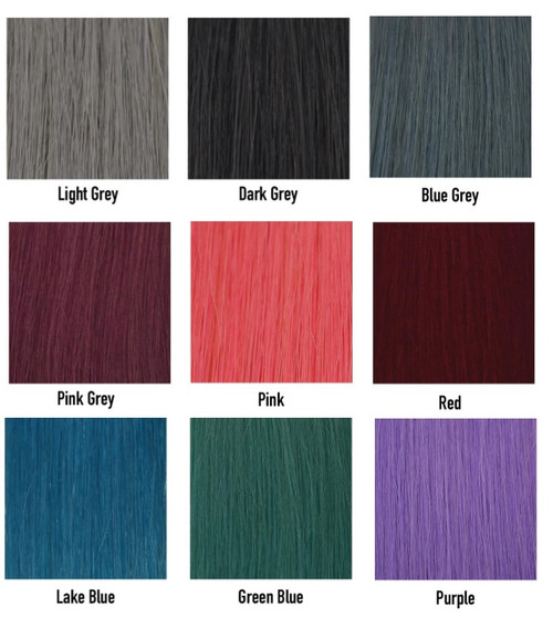 "20"" Tape In Hair Extensions 10 Pieces 5A Funky Color"