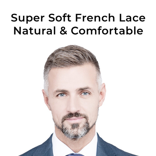 Super soft french lace natural & comfortable
