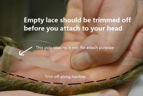 Trim Off Empty Lace