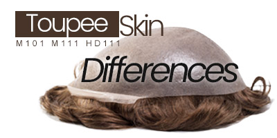 What are the differences between the thin skin base hair systems?