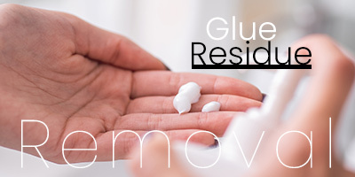 How to get glue residue out of your hair or hair system