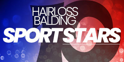 10 sports stars who suffered from balding or hair loss