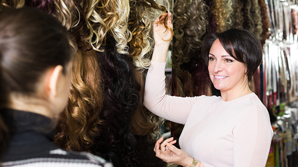 select hair extensions
