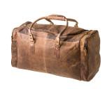 "Handmade leather travel bag ""1016"""