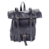 """Handmade leather backpack """"Roll-up"""""""