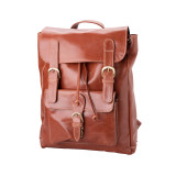 "Handmade leather backpack bag ""Nicola"""