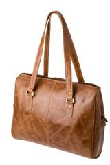 "Handmade leather handbag ""Zoe"""