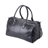 "Handmade Leather Travel Bag ""Ethiraj"""