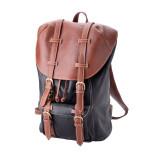 "Handmade Leather Backpack Bag ""Troy"""