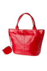 "Handmade leather shopper tote bag ""Jassi"""